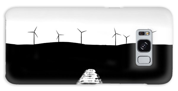 Wind Power Galaxy Case - To The Future by Az Jackson