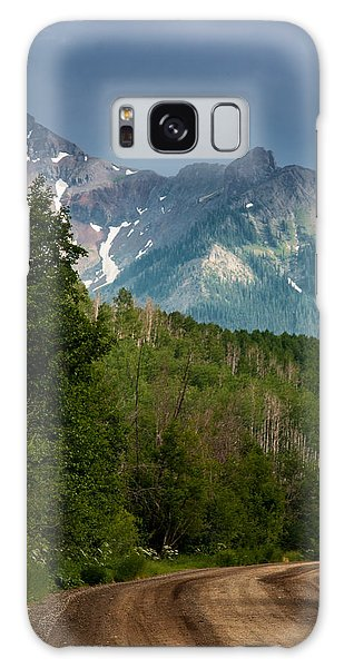 To The Mountains Galaxy Case
