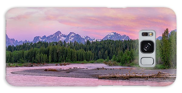 To The Tetons Galaxy Case