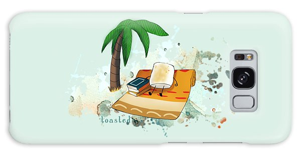 Toasted Illustrated Galaxy Case by Heather Applegate