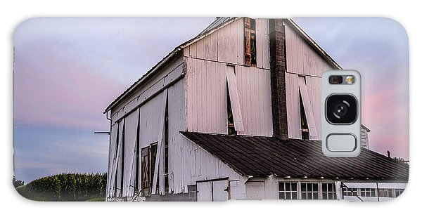 Tobacco Barn At Dusk Galaxy Case