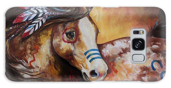 Tobiano Indian War Horse Galaxy Case