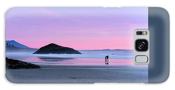 Tofino Sunset Galaxy Case by Keith Boone
