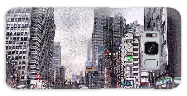 Galaxy Case - Tokyo Cloudy by Moto Moto
