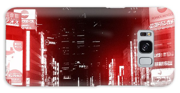 East Galaxy Case - Tokyo Street by Naxart Studio
