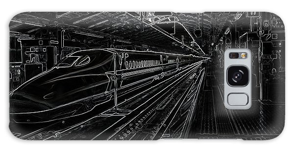 Tokyo To Kyoto, Bullet Train, Japan Negative Galaxy Case