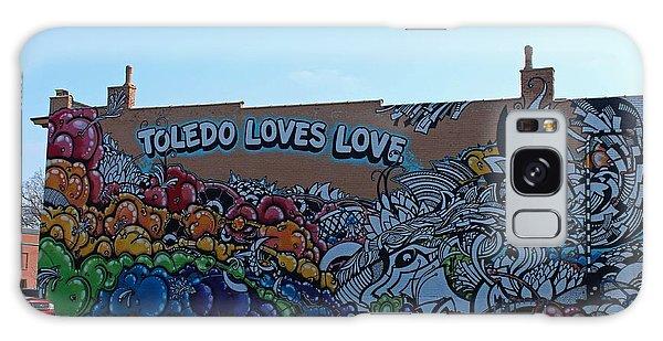 Toledo Loves Love Galaxy Case