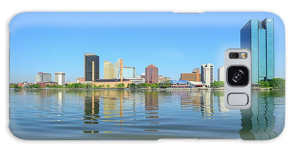 D12u-673 Toledo Ohio Skyline Photo Galaxy Case