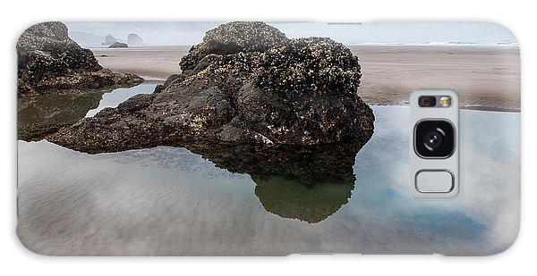Tolovana Beach At Low Tide Galaxy Case