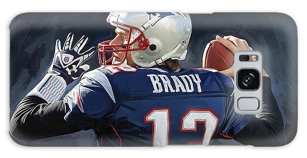 Tom Brady Artwork Galaxy Case