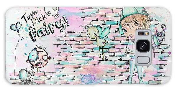 Tom Dick And Fairy Galaxy Case by Lizzy Love