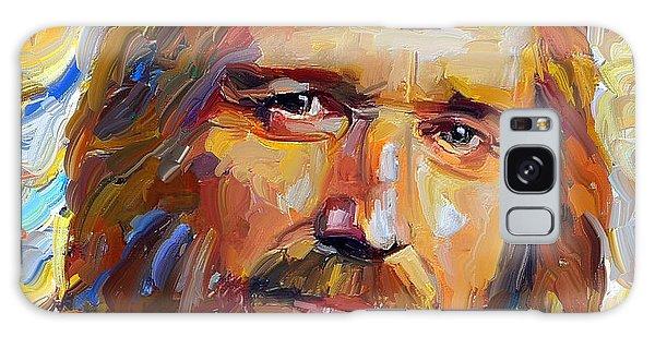 Tom Petty Tribute Portrait 1 Galaxy Case