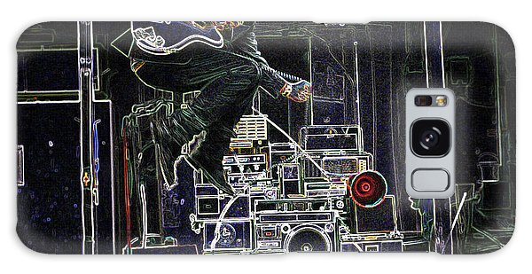 Tom Waits Jamming Galaxy Case by Charles Shoup