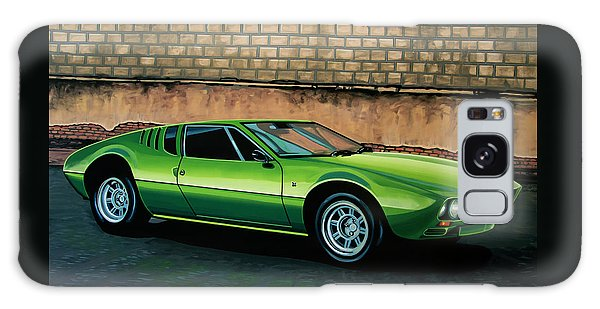 Coupe Galaxy Case - Tomaso Mangusta 1967 Painting by Paul Meijering