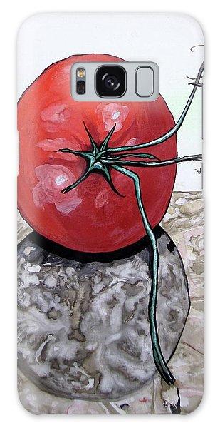 Tomato On Marble Galaxy Case