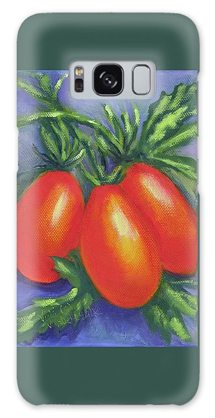 Tomato Seed Packet Galaxy Case