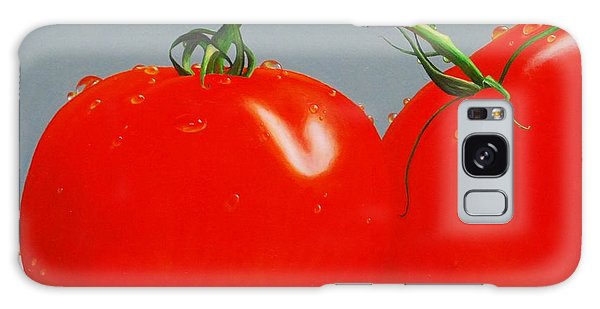 Tomatoes With Stems Galaxy Case