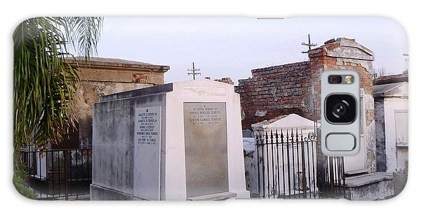 Tombs In St. Louis Cemetery Galaxy Case by Alys Caviness-Gober