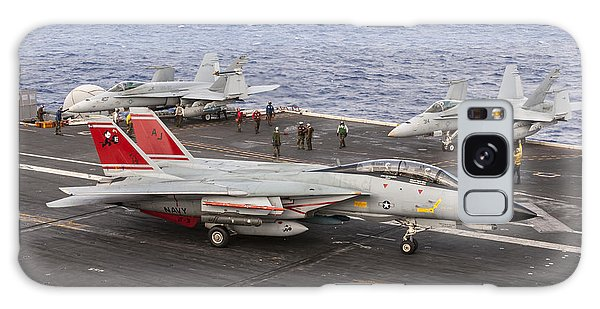 Tomcatters Aboard The Uss Theodore Roosevelt Galaxy Case
