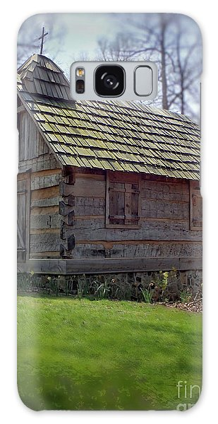 Tom's Country Church And School Galaxy Case