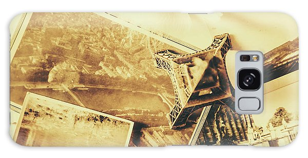 National Monument Galaxy Case - Toned Image Of Eiffel Tower And Photographs On Table by Jorgo Photography - Wall Art Gallery