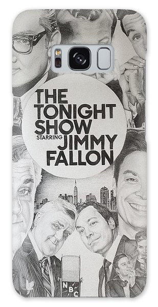 Johnny Carson Galaxy Case - Tonight Show by Danielle Billings