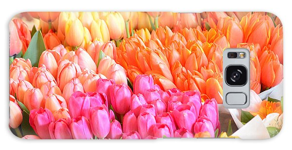 Tons Of Tulips Galaxy Case