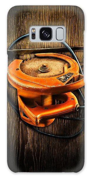 Tools On Wood 32 Galaxy Case
