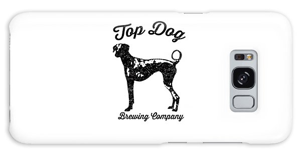Beer Galaxy S8 Case - Top Dog Brewing Company Tee by Edward Fielding
