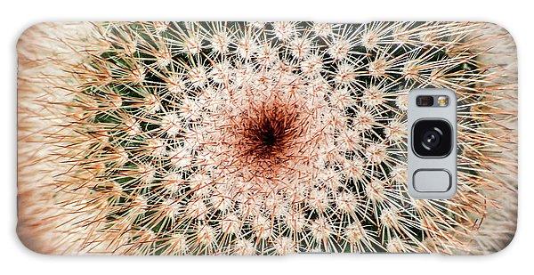 Top Of Cactus Galaxy Case