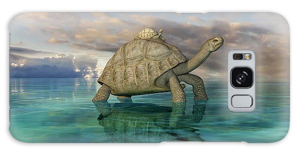 Turtle Galaxy Case - Top Of The World by Betsy Knapp