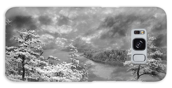 Top Of Tip Toe Mountain, Vinalhaven, Maine Galaxy Case