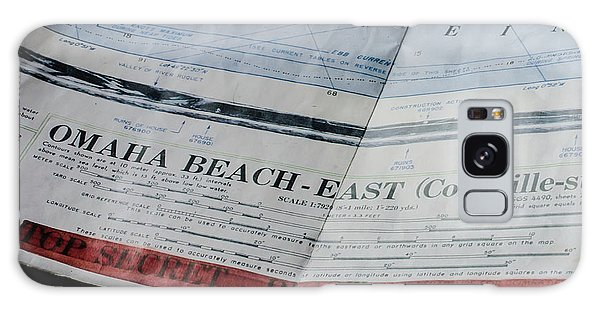 Top Secret - Omaha Beach Galaxy Case