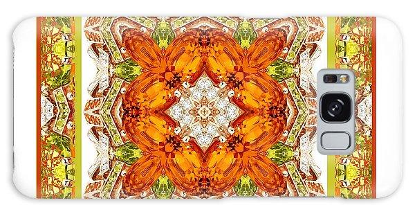 Topaz And Peridot Bling Kaleidoscope Galaxy Case