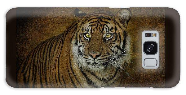 Topaz Tiger  Galaxy Case