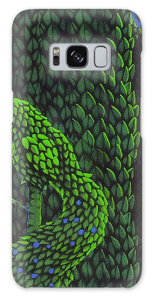 Topiary Peacock Galaxy Case by Donna Huntriss