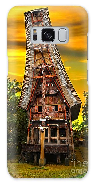 Toraja Architecture Galaxy Case by Charuhas Images