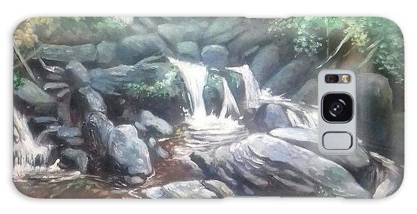 Torc Waterfall County Kerry Ireland Galaxy Case
