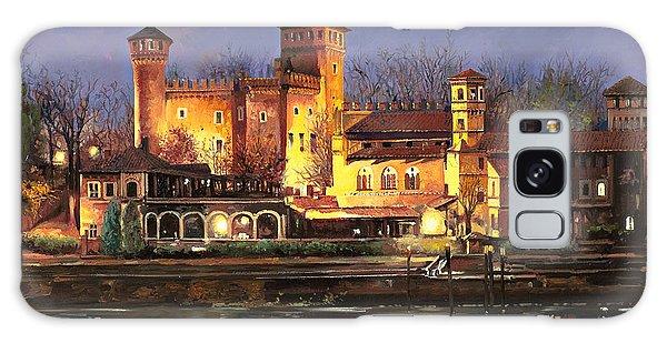 Castle Galaxy Case - Torino-il Borgo Medioevale Di Notte by Guido Borelli