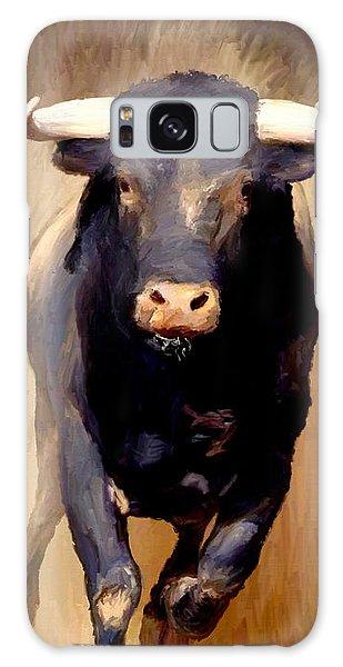 Bull Toro Bravo Galaxy Case by James Shepherd