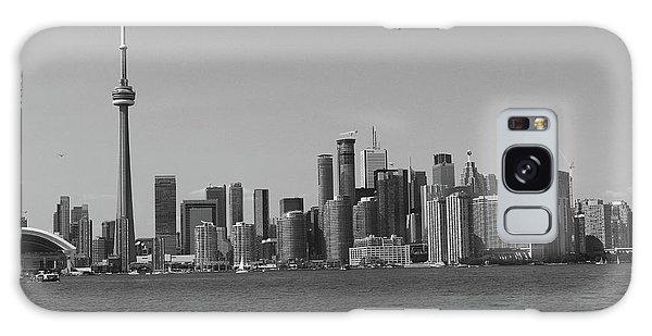 Toronto Cistyscape Bw Galaxy Case