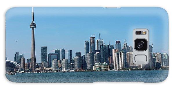 Toronto Cityscape Galaxy Case