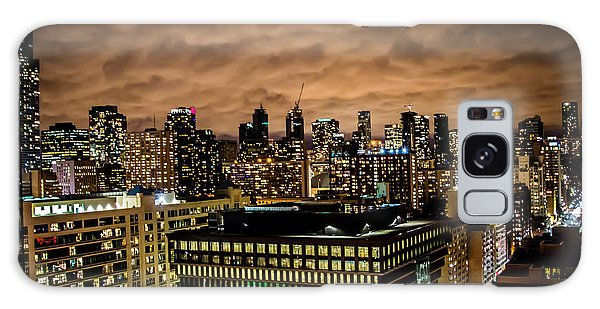 Toronto Dusk Galaxy Case by Sara Frank