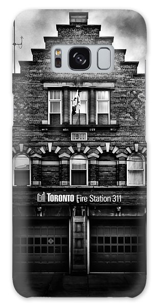Galaxy Case featuring the photograph Toronto Fire Station No 311 by Brian Carson