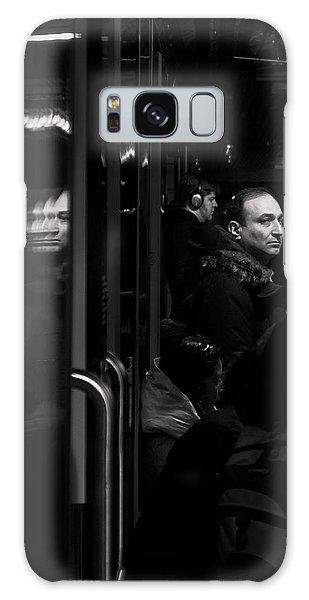 Toronto Subway Reflection Galaxy Case