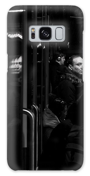 Toronto Subway Reflection Galaxy Case