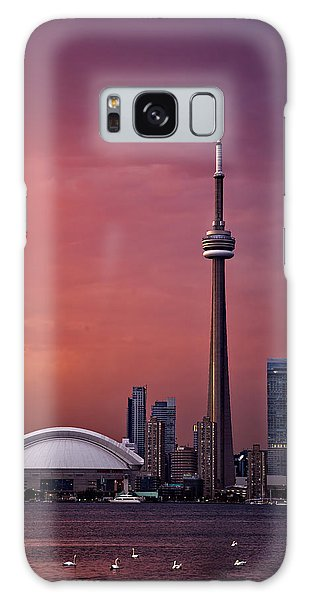 Toronto Sunset Galaxy Case