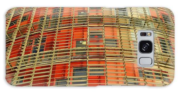 Torre Agbar Modern Facade Galaxy Case by Marek Stepan