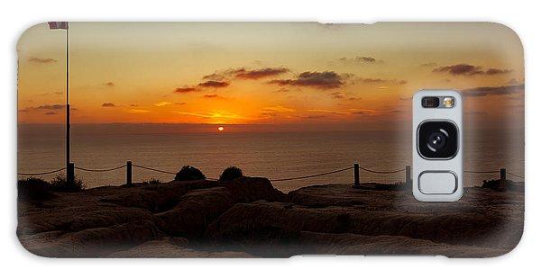 Torrey Pine Glider Port Sunset Galaxy Case