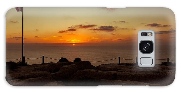 Torrey Pine Glider Port Sunset Galaxy Case